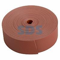 Термоусаживаемая лента с клеевым слоем REXANT 25 мм х 1,0 мм, красная, ролик 5 м, ТЛ-1,0
