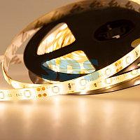 LED лента силикон, 8 мм, IP65, SMD 2835, 60 LED/m, 12 V, цвет свечения теплый белый
