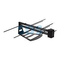 ТВ антенна комнатная для цифрового телевидения DVB-T2 «Активная» (модель RX-267) REXANT