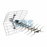 ТВ антенна наружная «Активная» для аналогового и цифрового ТВ - DVB-T2 (модель RX-413) (коробка) REXANT