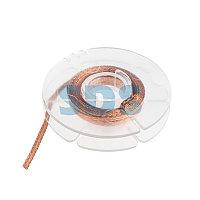 Оплетка для удаления припоя REXANT, медная, 1.5 мм x 1.5 м