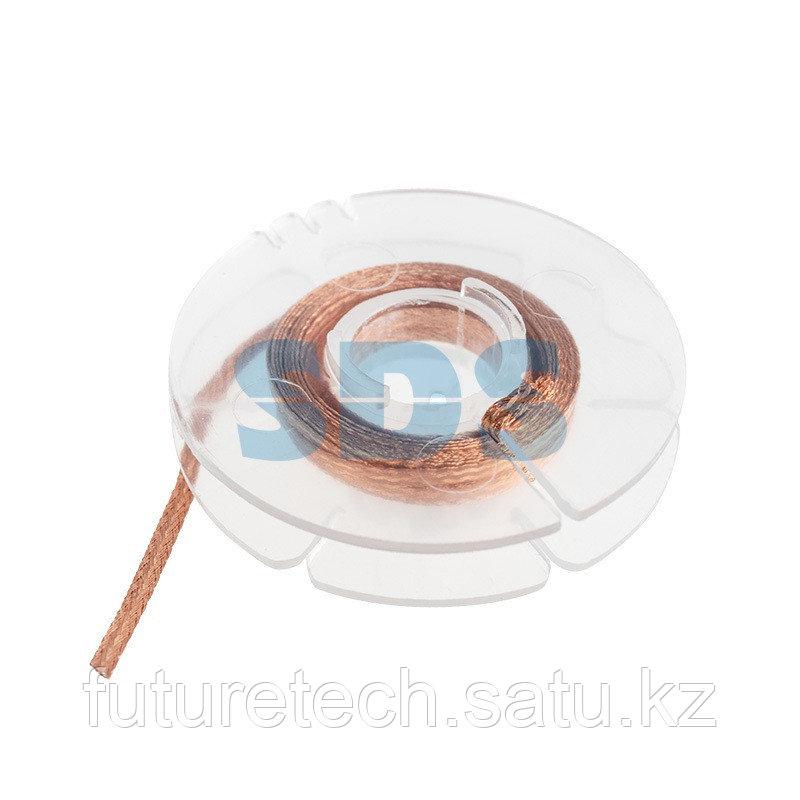 Оплетка для удаления припоя REXANT, медная, 1.5 мм x 1.5 м - фото 1