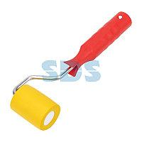 Валик для прикатки обоев резиновый,  ширина ролика 50 мм,  ручка 6 мм REXANT