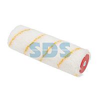 Ролик (сменный) полиамид белый с желтой полосой,  ворс 11 мм,  ширина ролика 180 мм,  Ø 42 мм,  бюгель 6 мм REXANT