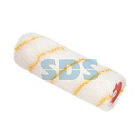 Ролик (сменный) полиамид белый с желтой полосой,  ворс 11 мм,  ширина ролика 180 мм,  Ø 42 мм,  бюгель 8 мм,  серия «Мастер» REXANT