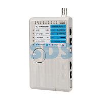 Тестер кабеля универсальный 5 в 1 RJ-45+RJ-11+1394+USB+BNC 3468 REXANT