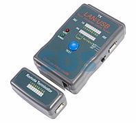 Тестер кабеля универсальный RJ-45+USB 251454 REXANT