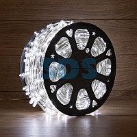 Гирлянда «LED Клип-лайт» 12 V, прозрачный ПВХ, 150 мм, цвет диодов белый