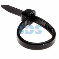 Хомут-стяжка кабельная нейлоновая REXANT 100 x3,6 мм, черная, упаковка 100 шт.