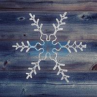 """Фигура световая """"Снежинка резная"""" цвет белый, размер 45*38 см NEON-NIGHT"""