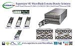 Решения 6U MicroBlade от Supermicro® обеспечивают высочайшую плотность вычислений и превосходную энергоэффективность с помощью технологии VLP DDR4 16/32ГБ RDIMM