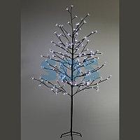 """Дерево комнатное """"Сакура"""", коричневый цвет ствола и веток, высота 1.5 метра, 120 светодиодов белого цвета,"""