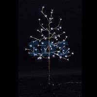 """Дерево комнатное """"Сакура"""", ствол и ветки фольга, высота 1.2 метра, 80 светодиодов белого цвета,"""