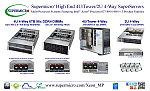 Supermicro® запускает новый High-End четырех процессорный SuperServer® с поддержкой до 6 Тбайт оперативной памяти в 96 слотах памяти DDR4