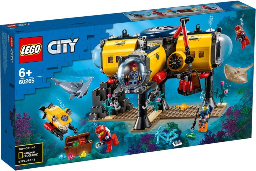 60265 Lego City Океан: исследовательская база, Лего Город Сити