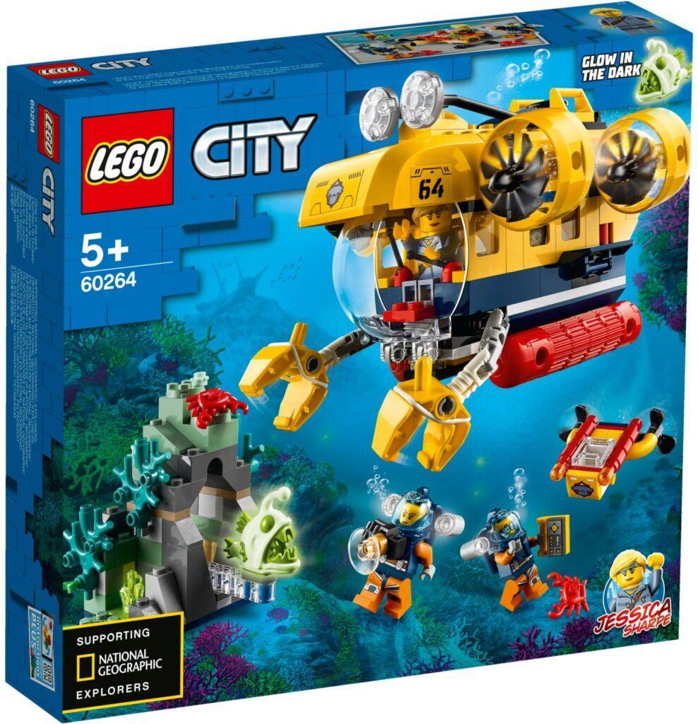 60264 Lego City Океан: исследовательская подводная лодка, Лего Город Сити