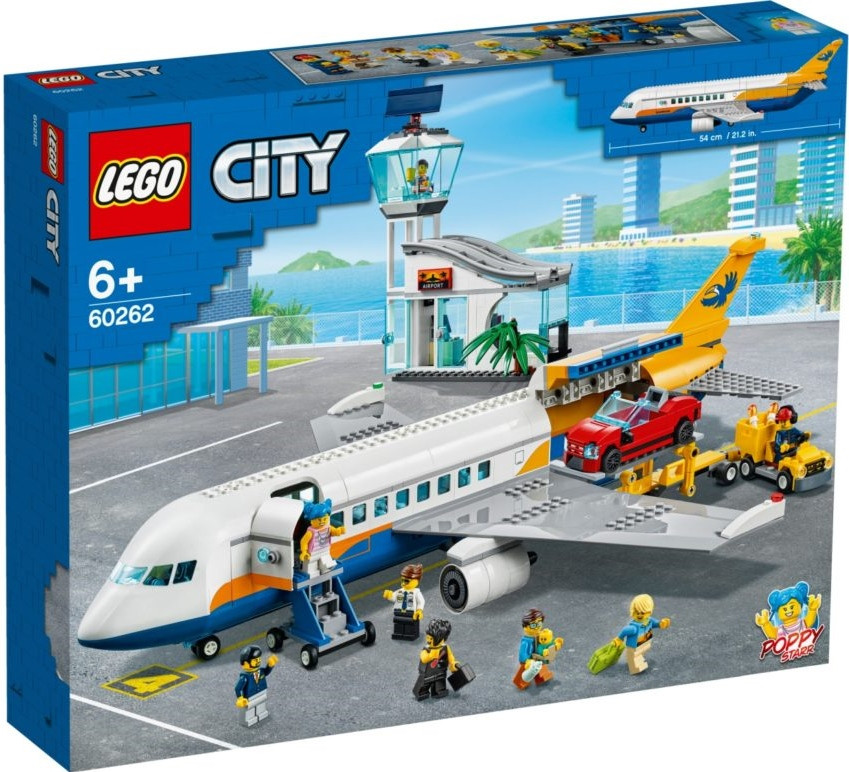 60262 Lego City Пассажирский самолёт, Лего Город Сити