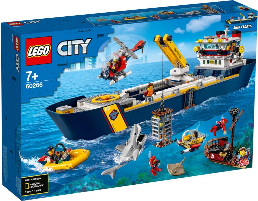 60266 Lego City Океан: исследовательское судно, Лего Город Сити