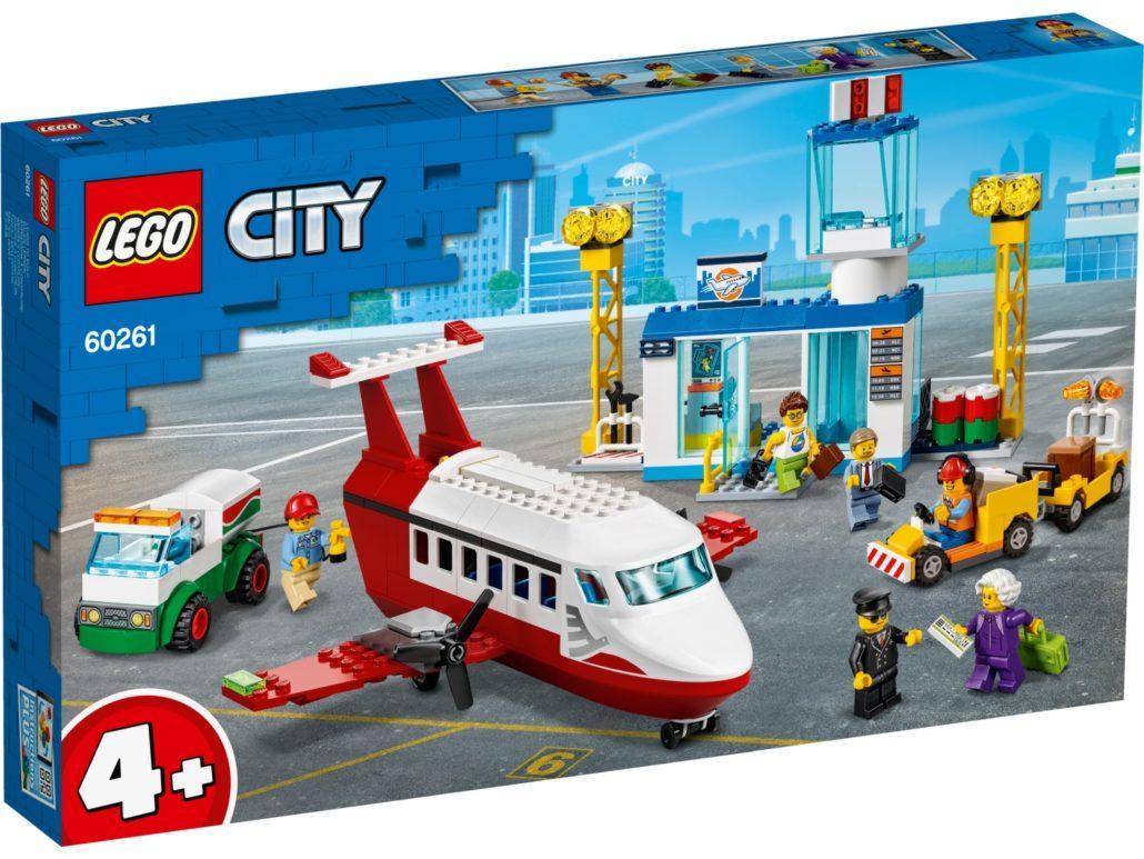60261 Lego City Городской аэропорт, Лего Город Сити