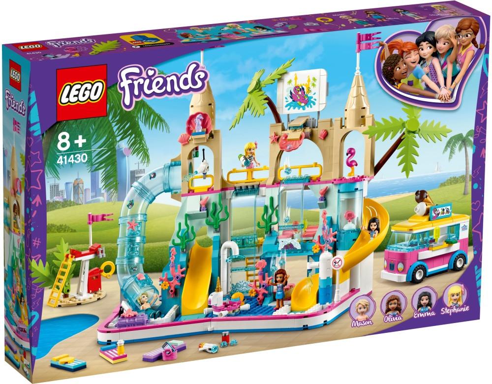 41430 Lego Friends Летний аквапарк, Лего Подружки
