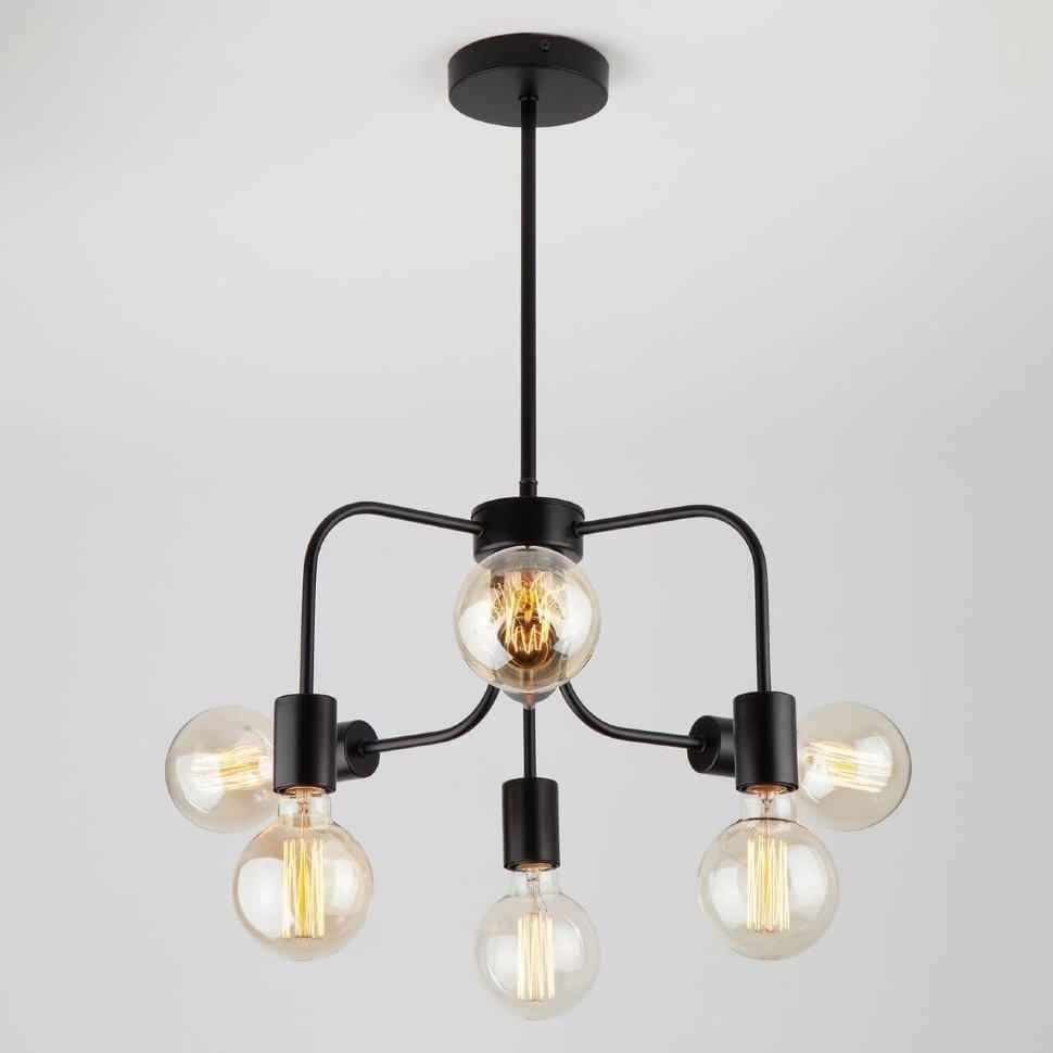 70058/6 подвесной светильник/ черный