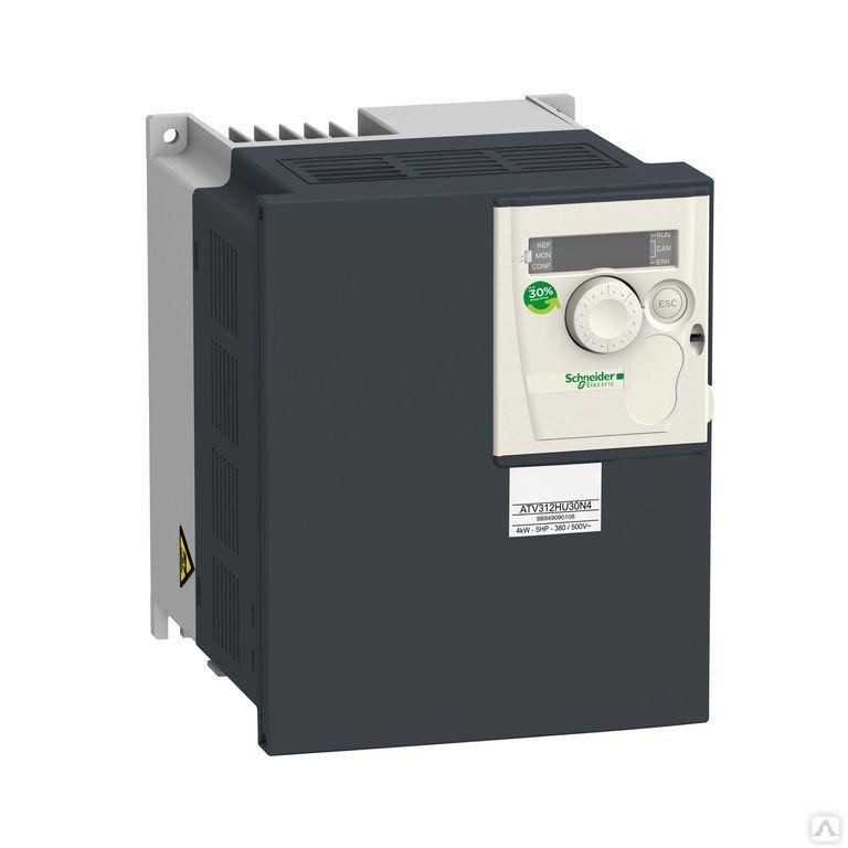 Частотный преобразователь ATV312 2,2квт 500В 3Ф /ATV312HU22N4/