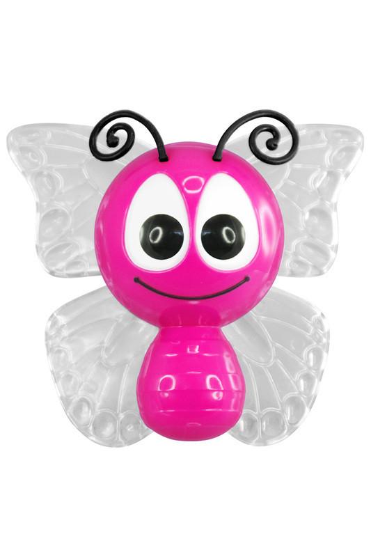 Светильник-ночник CZ-3(D) малиновый (Бабочка, Фотоэлемент, 0,5Вт,220Вт,LED)