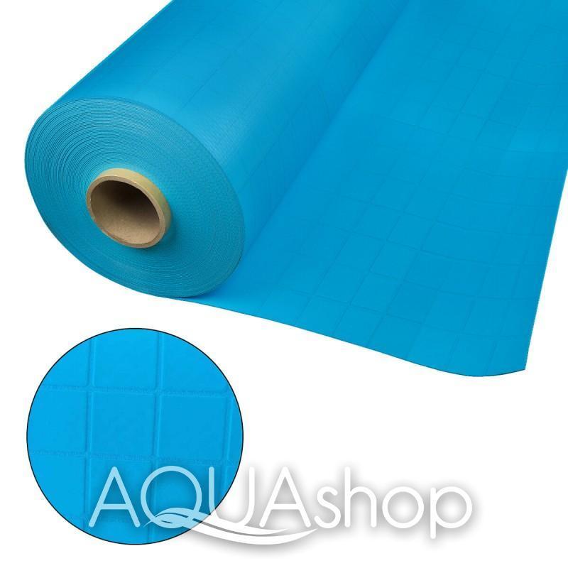 ПВХ пленка Cefil Touch Tesela Urdike синяя мозаика (текстурный). ширина 1,65 и 2,05