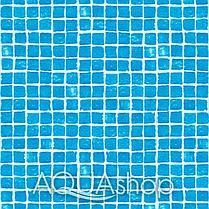 ПВХ пленка Cefil Gres голубая мозаика. ширина 1,65 и 2,05, фото 3