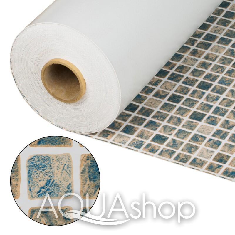 ПВХ пленка Cefil Mediterraneo Sable песочная мозаика. ширина 1,65 и 2,05