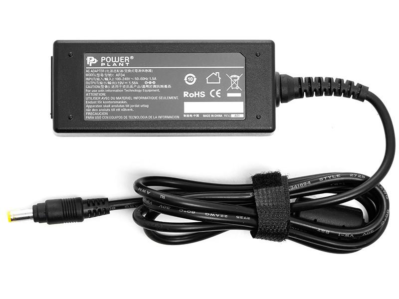 Блок питания для ноутбуков PowerPlant HP 220V, 19V 30W 1.58A (4.8*1.7)