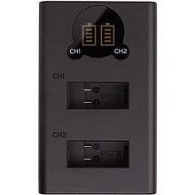 Зарядное устройство с дисплеем PowerPlant GoPro SPCC1B для двух аккумуляторов