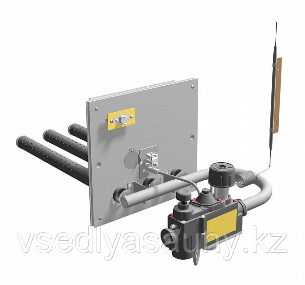 Газовая горелка с пьезорозжигом САБК-АБ-12-1. (ПБ 12 кВт) Ермак.