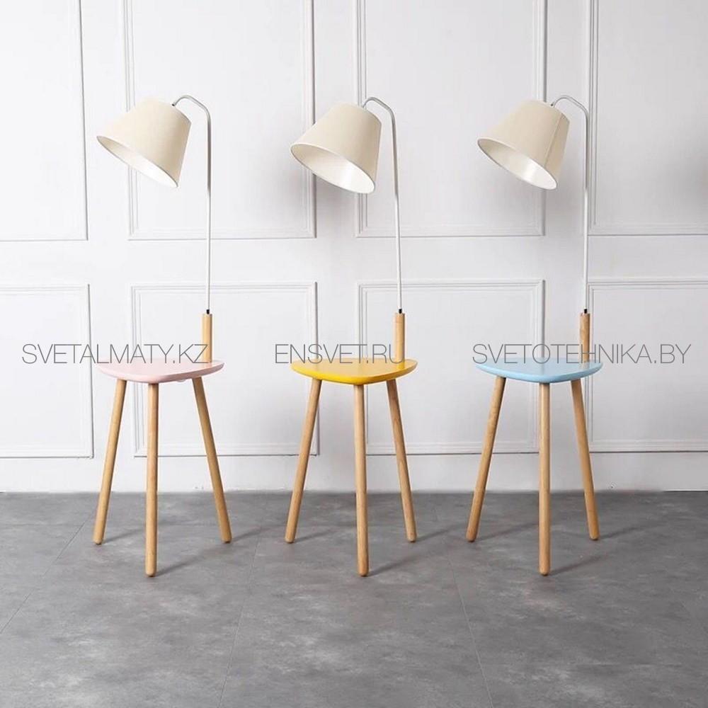 Торшер тренога со столиком Arte Lamp COMBO