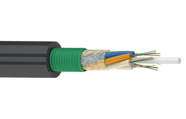 Оптический кабель ОКК 24 G.652D (3х8) 2,7кН, фото 2