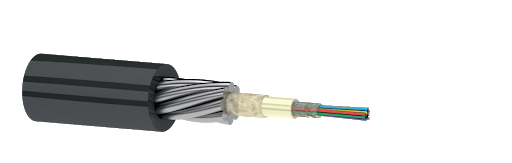 Оптический кабель ОКГЦ 08 G.652D 7кН, фото 2