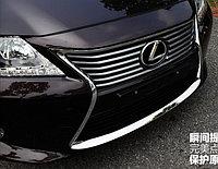 Хром накладка на передний бампер Lexus ES 2012+