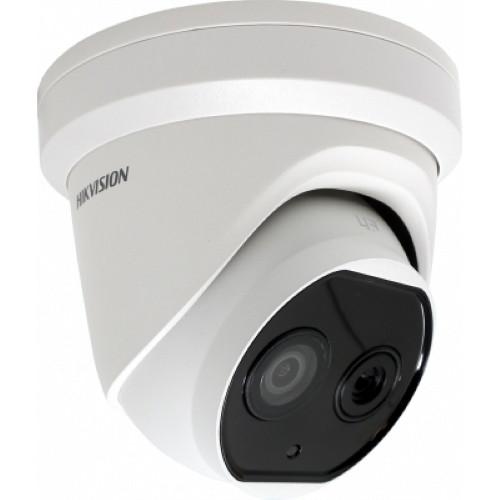 DS-2TD1217B-3/PA - 4MP/0.02MP (оптический/тепловизионный режимы) тепловизионная  купольная IP-камера.