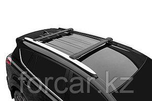 Поперечины LUX Hunter Audi A6 Allroad C5/C6/C7 черные