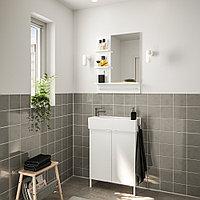 ЛИЛЛОНГЕН / ЛИЛЛОНГЕН Комплект мебели для ванной,5 предм., белый, ЭНСЕН смеситель, 62 см