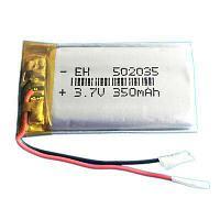 Аккумулятор 502035 Li-pol 3.7V 350мАч