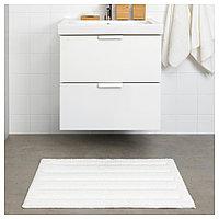 ЭМТЕН Коврик для ванной, белый, 50x80 см