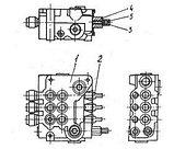 Гидрораспределитель РХ-80 львовского погрузчика АП-40814, фото 5