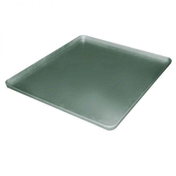 Лист подовый плоский алюминиевый штампованный 660*600