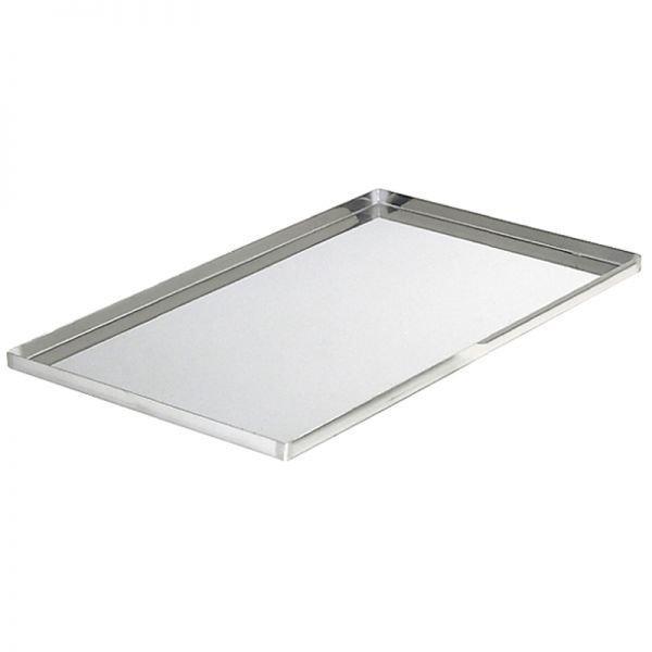 Лист подовый плоский стальной 450*600*20