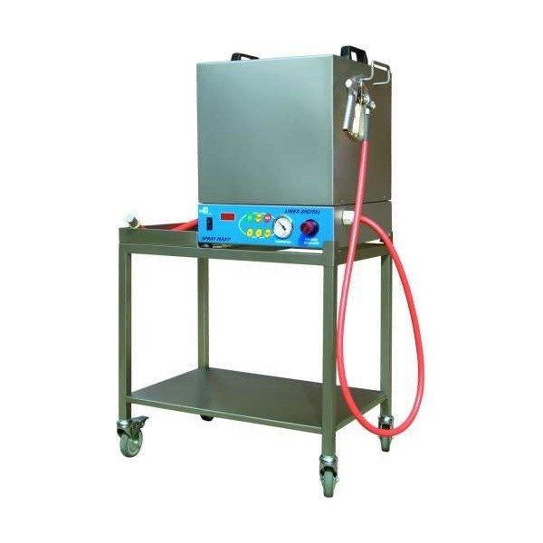 Машина для покрытия выпечки желатином Spray Maxi на колесиках