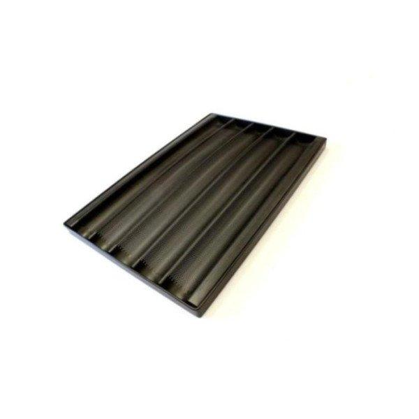 Противень багетный алюминиевый TG 435 для печи Unox