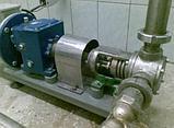 Станция перекачки кондитерских масс (насос НШ-2, инвертер, двигатель, станина), фото 7