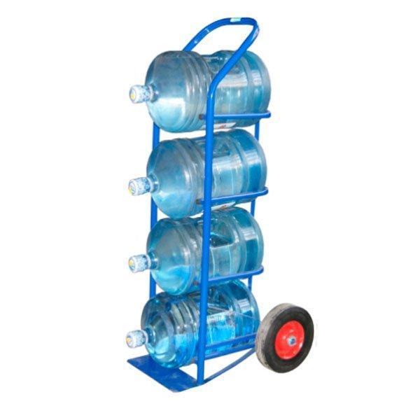 Тележка для бутылей с питьевой водой 19л.