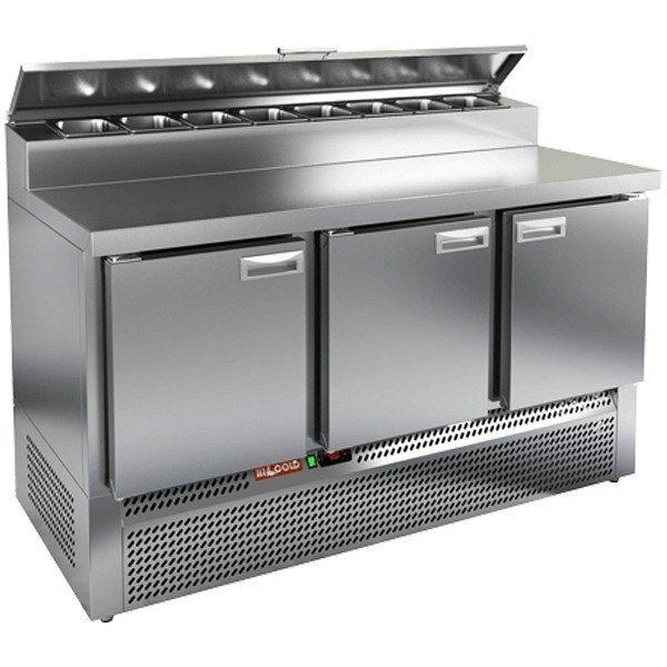 Стол охлаждаемый для пиццы HICOLD PZE2-111/GN(1/6)